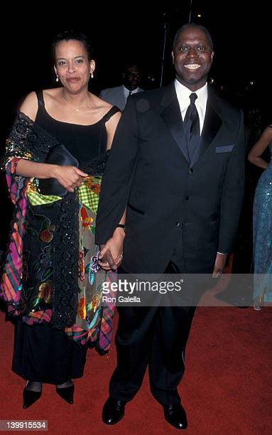 Ami Brabson and Andre Braugher at the 32nd Annual NAACP Image Awards Universal Ampitheater Universal City