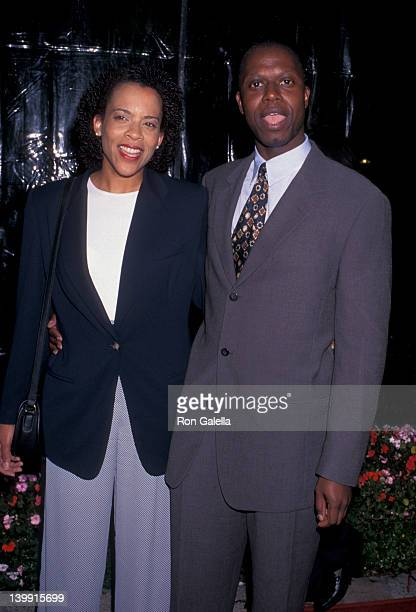 Ami Brabson and Andre Braugher at the Los Angeles Premiere of 'Primal Fear' Paramount Studios Hollywood