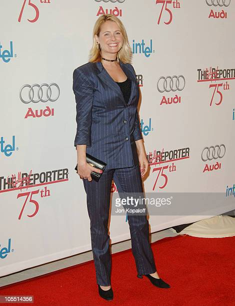 Ami Dolenz during The Hollywood Reporter 75th Anniversary Gala Presented by Audi Arrivals at Astra West in West Hollywood California United States