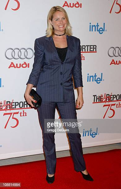 Ami Dolenz during The Hollywood Reporter 75th Anniversary Gala Presented By Audi Arrivals in Los Angeles California United States