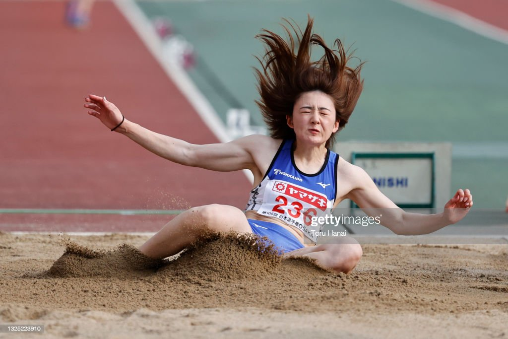ami-kodama-competes-in-womens-long-jump-final-during-the-105th-japan-picture-id1325223910