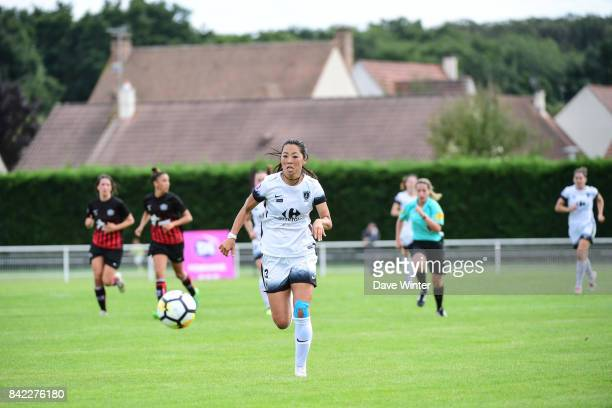 Ami Otaki of Paris FC during women's Division 1 match between FC Fleury 91 and Paris FC on September 3 2017 in Fleury Merogis France