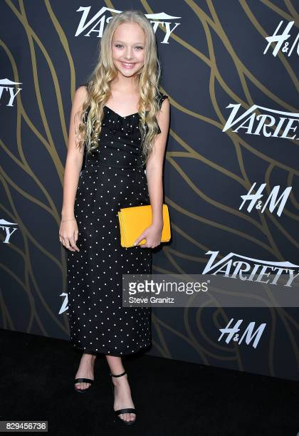 Amiah Miller arrives at the Variety Power Of Young Hollywood at TAO Hollywood on August 8 2017 in Los Angeles California