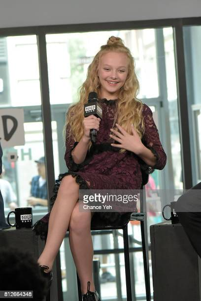 Amiah Miller attends Build series to discuss 'War For The Planet Of The Apes' at Build Studio on July 11 2017 in New York City