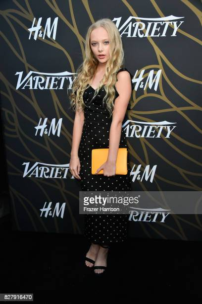 Amiah Miller attends Variety Power of Young Hollywood at TAO Hollywood on August 8 2017 in Los Angeles California