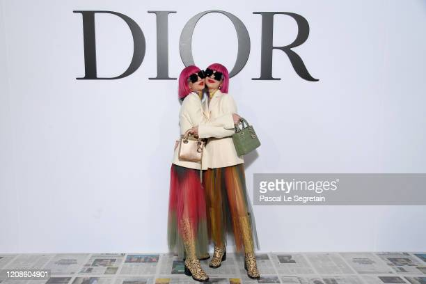 Amiaya attends the Dior show as part of the Paris Fashion Week Womenswear Fall/Winter 2020/2021 on February 25 2020 in Paris France