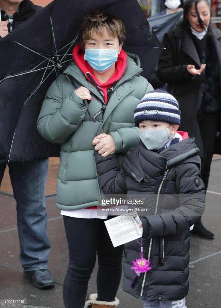 Coronavirus Masks in NYC : News Photo