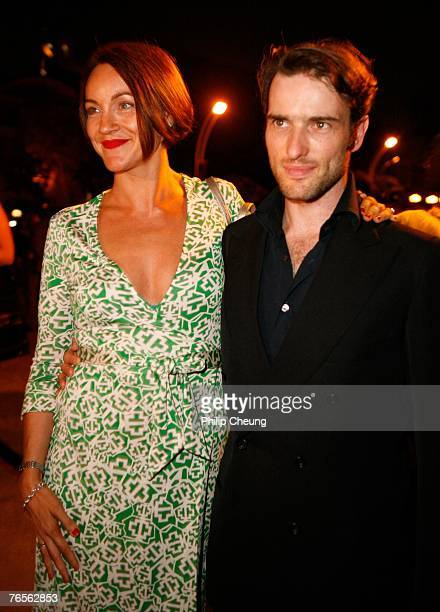 Amie Stoppard and actor Ed Stoppard attend the Opening Night party during the Toronto International Film Festival 2007 held at Liberty Grand on...