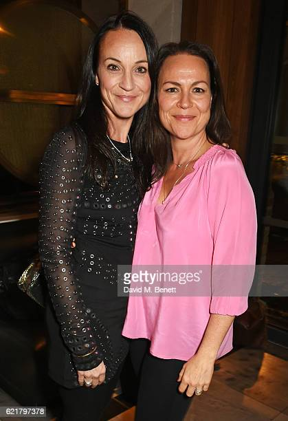 Amie Stoppard and Rosie Stamp attend the press night after party for Lazarus at the King's Cross Theatre on November 8 2016 in London England