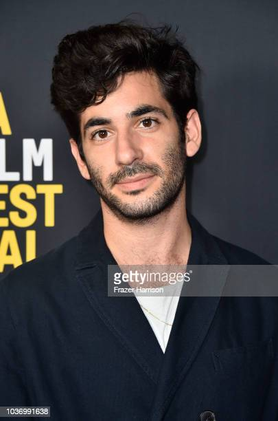 Amiel Kestenbaum attends 2018 LA Film Festival Opening Night Premiere Of 'Echo In The Canyon' at John Anson Ford Amphitheatre on September 20 2018 in...