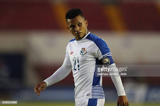 Amilcar Henriquez of Panama during the Copa Centroamericana 2017 tournament between Panama and Nicaragua at Estadio Rommel Fernandez on January 15...