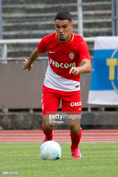 Amilcar Silva of Monaco controls the ball during the EMKA RUHRCup International match between AS Monaco U19 and FC Schalke 04 U19 at Stadion Rote...