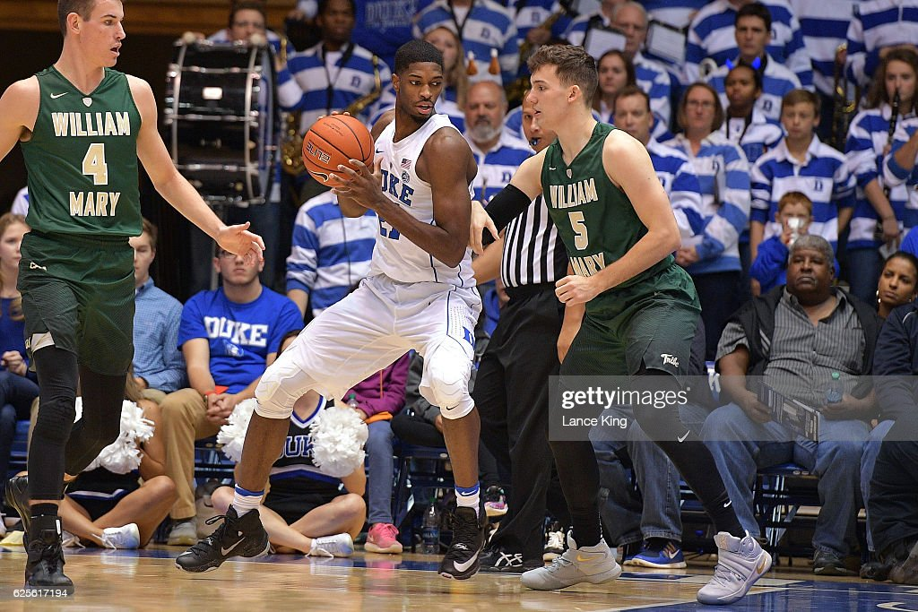William and Mary v Duke : News Photo