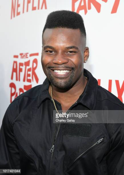 Amin Joseph attends Netflix's 'The After Party' special screening on August 15 2018 in Los Angeles California