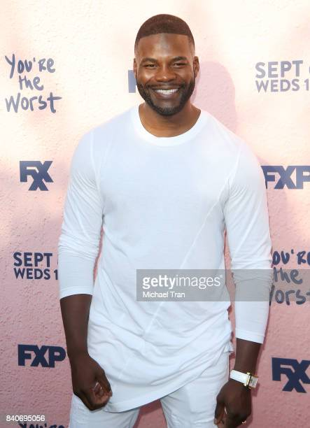 Amin Joseph attends the Los Angeles premiere of FXX's 'You're The Worst' season 4 held at Museum of Ice Cream LA on August 29 2017 in Los Angeles...