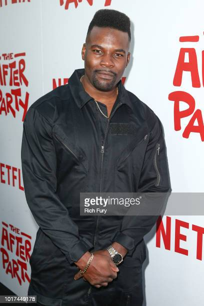 Amin Joseph attends the screening of Netflix's 'The After Party' at ArcLight Hollywood on August 15 2018 in Hollywood California