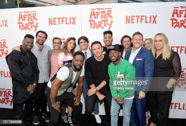 Amin Joseph Jake Stein Director of Content Acquisition at Netflix Matthew Levin Shelley Hennig Blair Underwood Harrison Holzer Ian Edelman Kyle...