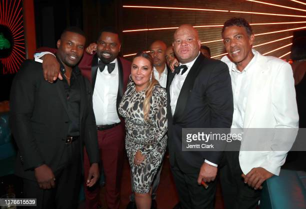Amin Joseph Oronde Garrett Angie Martinez Shawn Pecas and Chris Ivery attend the Second Annual 'Celebrate The Culture II' Celebrates Diversity In...