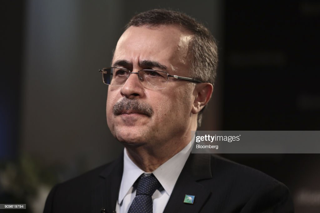 Amin Nasser, chief executive officer of Saudi Arabian Oil Co