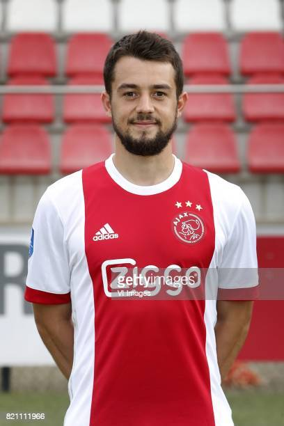 Amin Younes during the team presentation of Ajax on July 22 2017 at the at the Toekomst in Amsterdam The Netherlands
