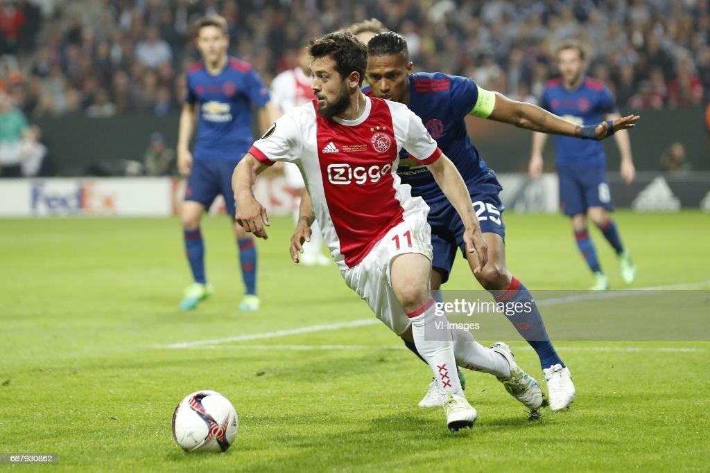"UEFA Europa League""Ajax v Manchester United"" : News Photo"