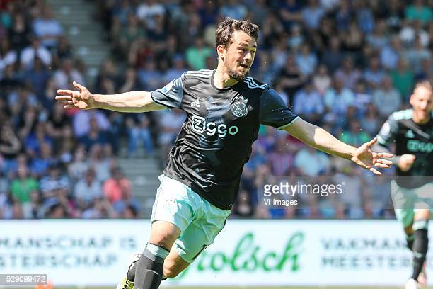 Amin Younes of Ajax during the Dutch Eredivisie match between Ajax and De Graafschap on may 8 2016 at the Vijverberg in Doetinchem the Netherlands...