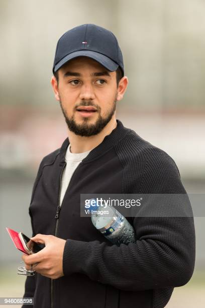 Amin Younes of Ajax during the Jupiler League match between jong Ajax Amsterdam and FC Emmen at De Toekomst on April 13 2018 in Amsterdam The...