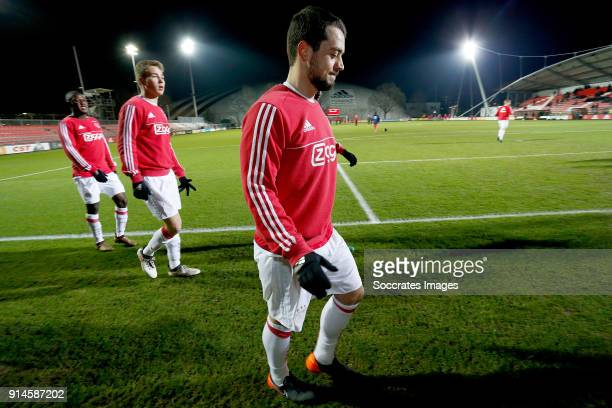 Amin Younes of Ajax U23 during the Dutch Jupiler League match between Ajax U23 v Helmond Sport at the De Toekomst on February 5 2018 in Amsterdam...