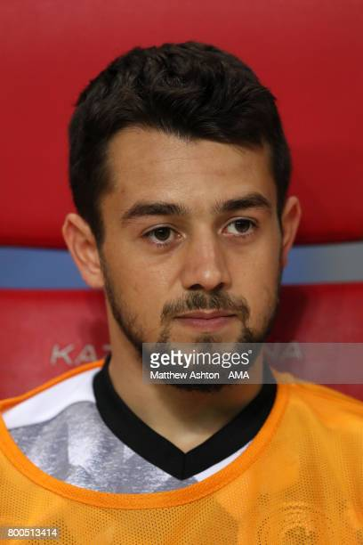 Amin Younes of Germany prior to the FIFA Confederations Cup Russia 2017 Group B match between Germany and Chile at Kazan Arena on June 22 2017 in...