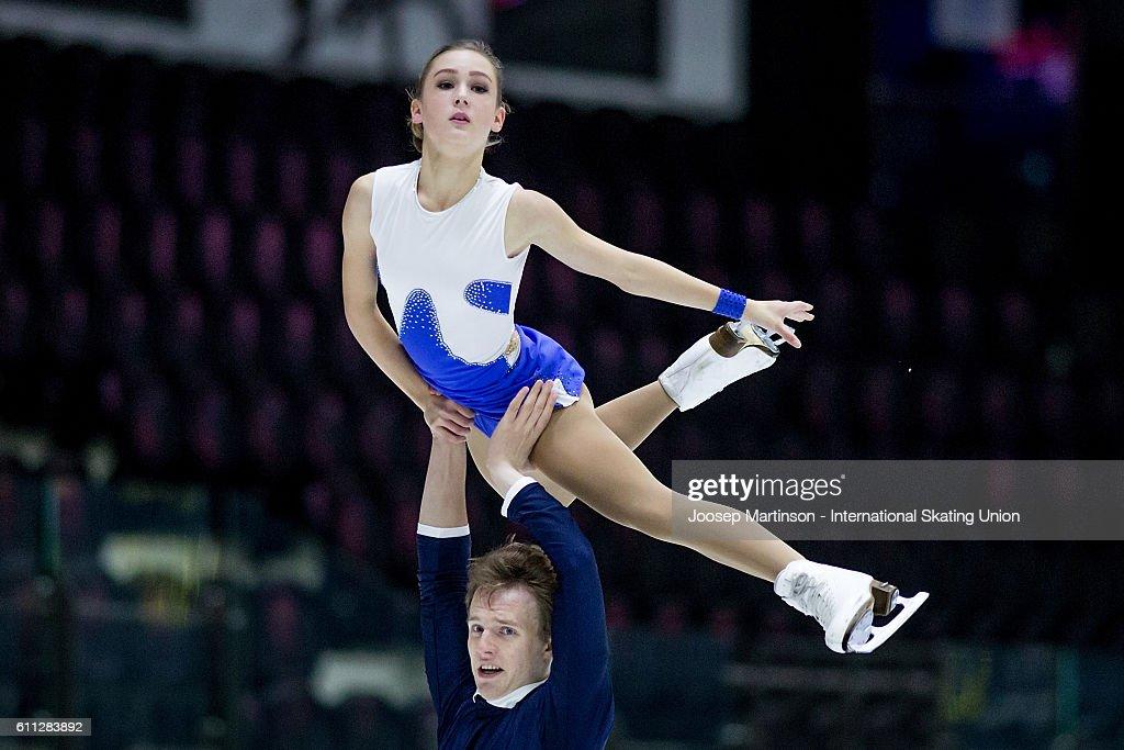 ISU Junior Grand Prix of Figure Skating - Tallinn Day 1 : News Photo