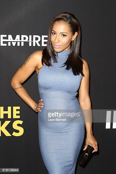 Amina Buddafly attends the Premiere Of Freestyle Releasing's 'Meet The Blacks' at ArcLight Hollywood on March 29 2016 in Hollywood California