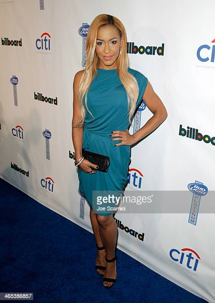 Amina Buddafly attends the second annual Billboard GRAMMY After Party at The London West Hollywood on January 26 2014 in West Hollywood California