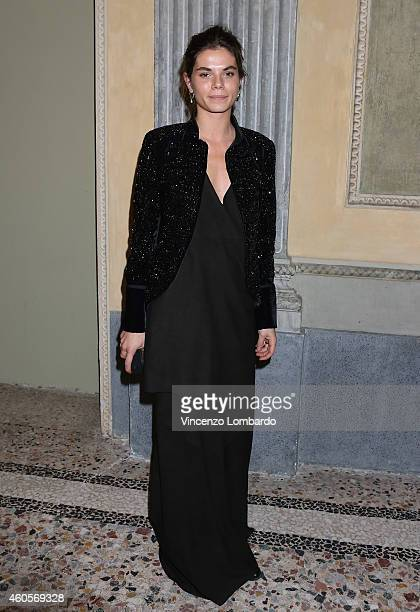 Amina Marazzi attends the Fondazione IEO CCM Christmas Dinner For on December 16 2014 in Monza Italy