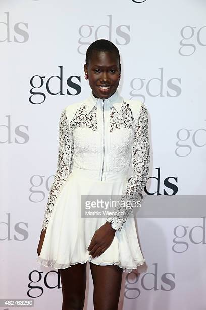 Aminata Sanogo attends the GDS Grand Opening Party on February 4 2015 in Duesseldorf Germany