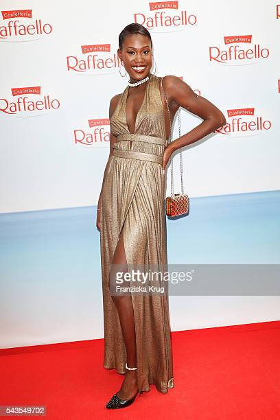 Aminata Sanogo attends the Raffaello Summer Day 2016 to celebrate the 26th anniversary of Raffaello on June 24 2016 in Berlin Germany