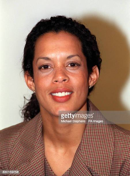 Aminatta Forna one of the new team of presenters and correspondents unveiled at the launch of the new look BBC Six o'clock News in London