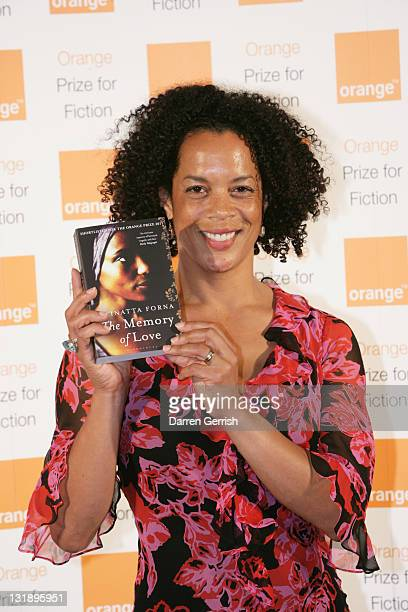 Aminatta Forna shortlisted author for the 'Orange Prize For Fiction' meets the press at the Royal Festival Hall on June 8 2011 in London England