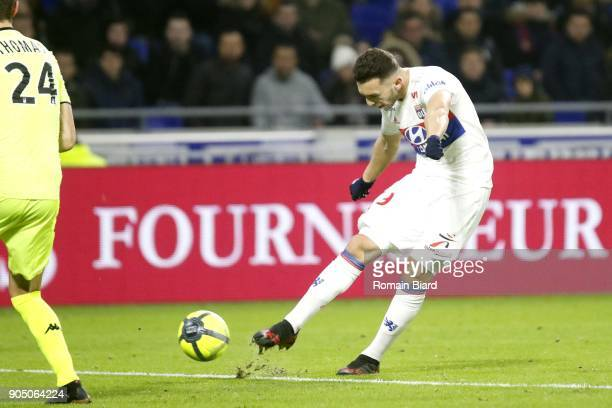 Amine Gouiri of Lyon during Lyon vs Angers SCO Photo by Romain Biard / Icon Sport