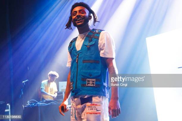 Amine performs at O2 Shepherd's Bush Empire on February 16 2019 in London England