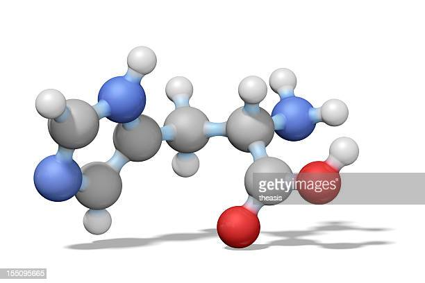 amino acid histidine - theasis stock pictures, royalty-free photos & images