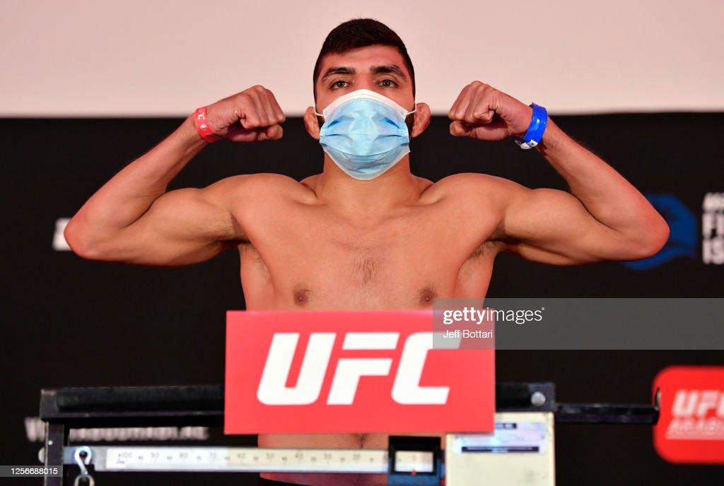 UFC Fight Night: Figueiredo v Benavidez 2 Weigh-in : Nieuwsfoto's