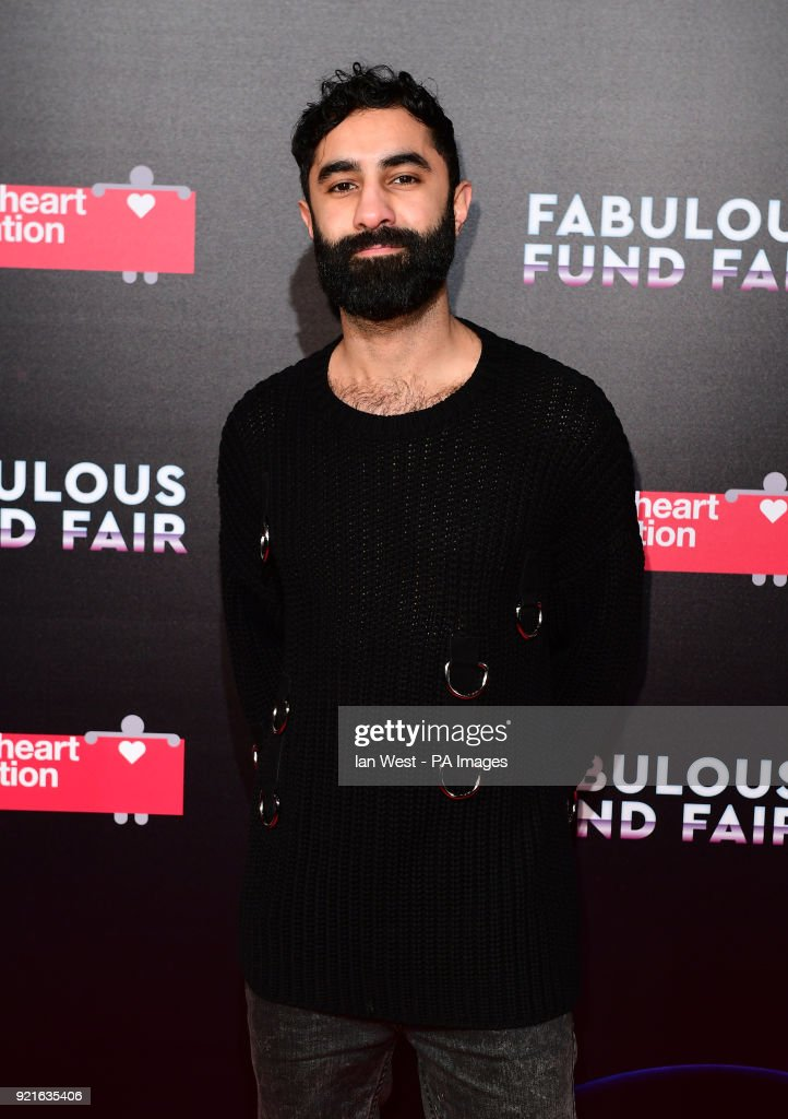 Amir Amor attending the Naked Heart Foundation Fabulous Fun dFair held at The Roundhouse in Chalk Farm, London.