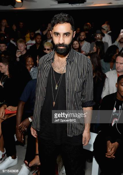 Amir Amor of Rudimental attends the What We Wear show during London Fashion Week Men's June 2018 at the BFC Show Space on June 11 2018 in London...