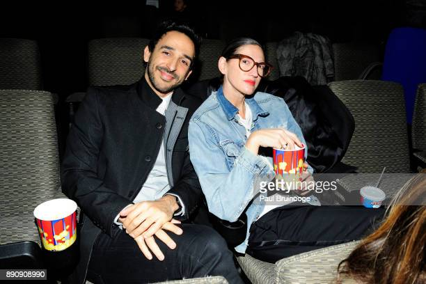 Amir Arison and Jenna Lyons attend the New York premiere of 'Phantom Thread' at The Film Society of Lincoln Center Walter Reade Theatre on December...