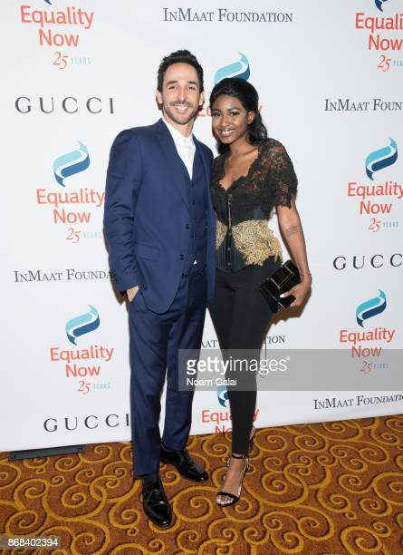 Amir Arison and Ornella Suad attend the 2017 Equality Now Gala at Gotham Hall on October 30 2017 in New York City
