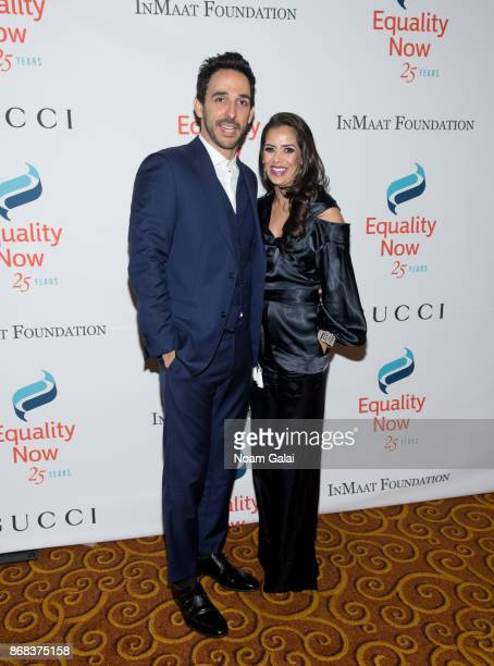 Amir Arison and Sheetal Sheth attend the 2017 Equality Now Gala at Gotham Hall on October 30 2017 in New York City