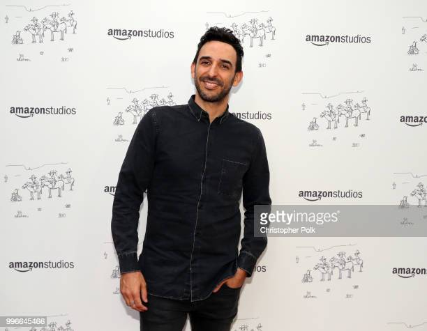 Amir Arison attends Amazon Studios premiere of 'Don't Worry He Wont Get Far On Foot' at ArcLight Hollywood on July 11 2018 in Hollywood California