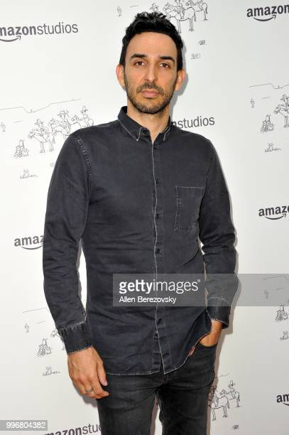 Amir Arison attends Amazon Studios Premiere of Don't Worry He Wont Get Far On Foot at ArcLight Hollywood on July 11 2018 in Hollywood California