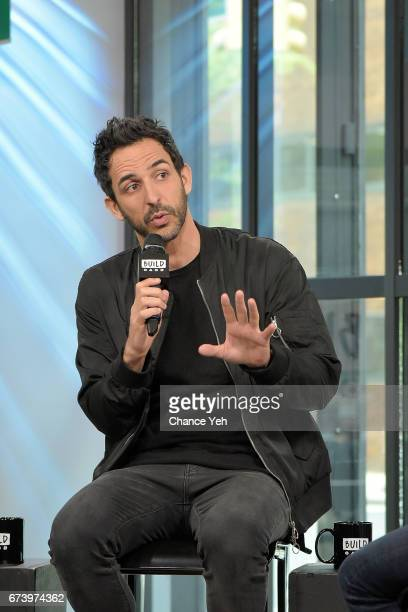 Amir Arison attends Build series to discuss 'The Blacklist' at Build Studio on April 27 2017 in New York City