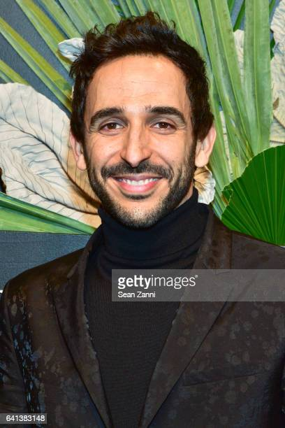 Amir Arison attends ELLE E And IMG Host New York Fashion Week February 2017 KickOff Event at 40 Bethune Street on February 8 2017 in New York City